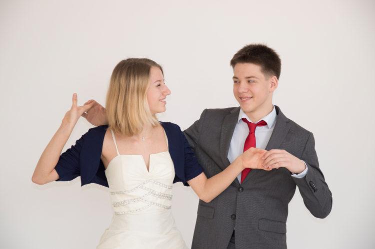 Schülerpaar